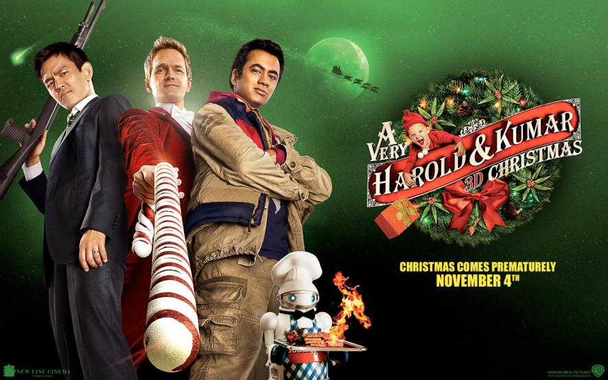 Watch A Very Harold & Kumar 3D Christmas Online For Free On 123movies