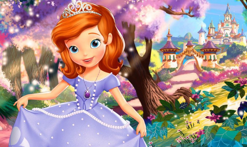 Sofia the first season 1 episode 10 part 6 - Bb flashback