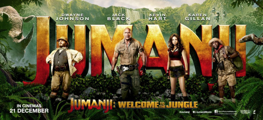 Jumanji: Welcome to the Jungle - Filme Online 2018